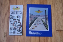 indianapolis motor speedway hall of fame museum owners sales brochure lo... - $14.99