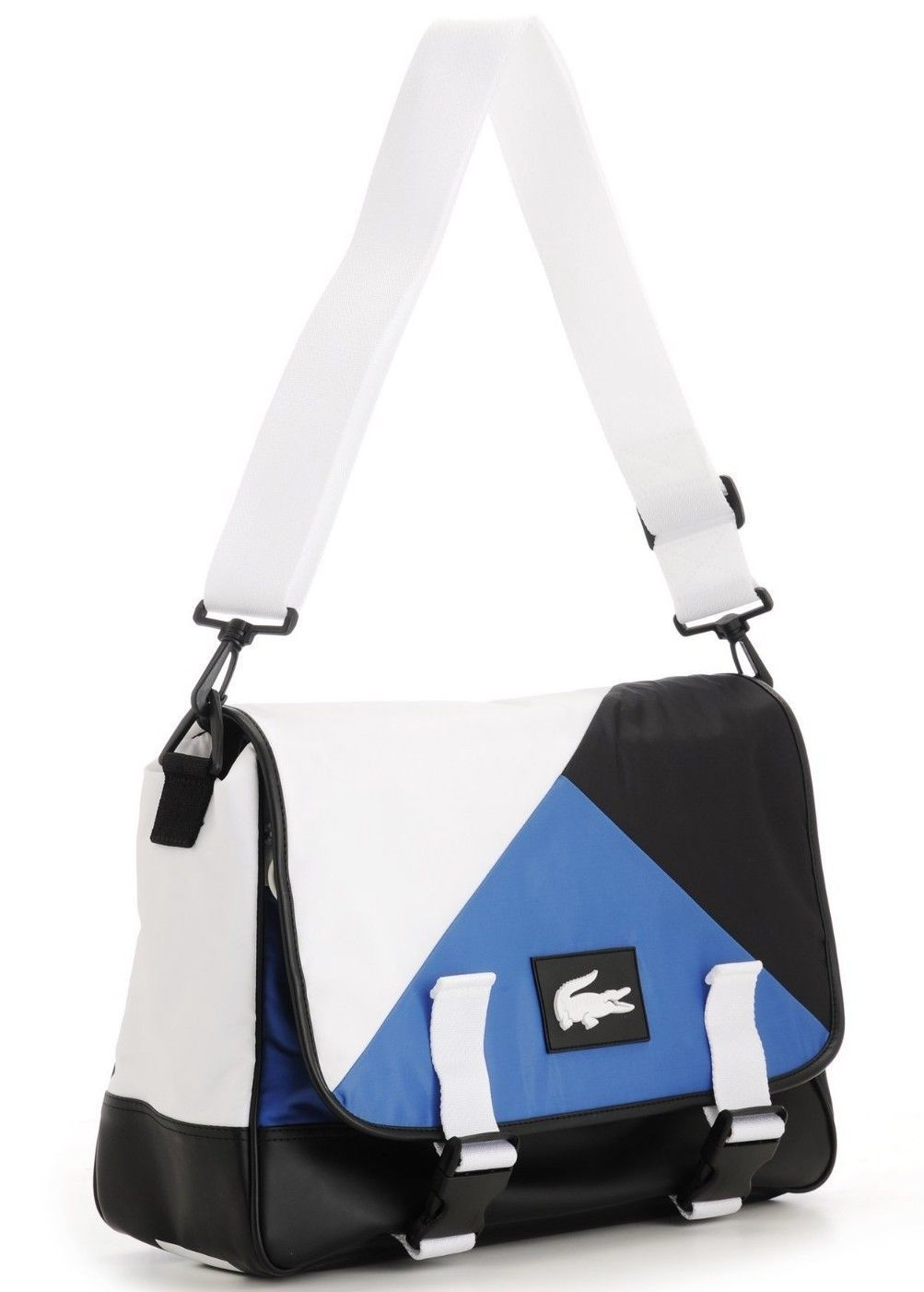 fdcdacb986 Lacoste Gym Bag White