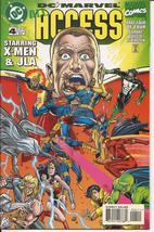 DC Marvel All Access #4 X-Men Justice League Of America Action Adventure - $3.95