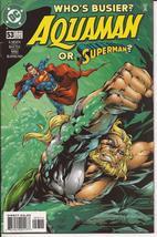DC Aquaman #53 Superman Action Adventure Atlantis Undersea Fantasy - $2.95