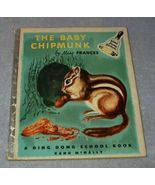Children's Ding Dong School Book The Baby Chipmunk Dr. Frances R. Horwich - $8.00