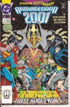 DC Armageddon 2001 Special #1 Wave Rider Action Adventure Fantasy Superman  - $2.95