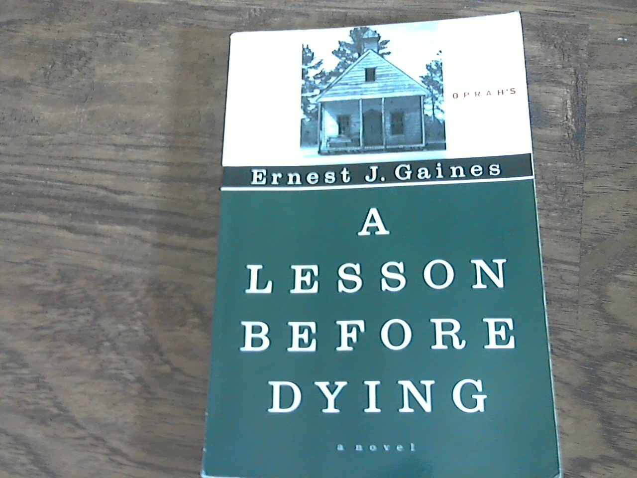 an analysis of a lesson before dying by ernest j gaines Ernest james gaines was born january 15, 1933, on river lake plantation in oscar, a small town in pointe coupee parish, near new roads, louisiana the oldest of.