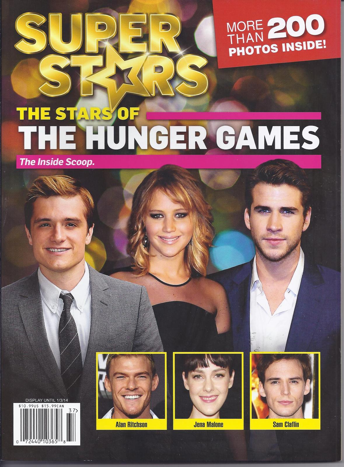 Primary image for THE HUNGER GAMES SUPER STARS Magazine