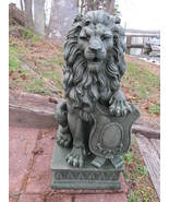PATIO DRIVEWAY LION GARDEN DECOR FIGURINE STATUE - NEW - $74.77