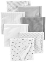 Simple Joys by Carter's Baby Unisex 7-Pack Flannel Receiving Blankets, G... - $25.18