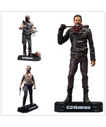 The Walking Dead PVC Action figure Rick Daryl Negan Collectible Model Se... - $41.99