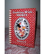 Cooking with Mickey Vol II Cookbook Recipes from Disneyland and Disney W... - $10.99