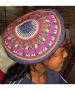 Happy colored beret,had made of pure Alpacawool  - $25.00