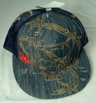 Denim Hat by Metallidz Denim Blast NWT Free Shipping - $9.26
