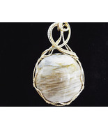 Winds on the Desert Sands Pendant 14K rolled gold wire - $45.00