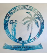Golf Tournament Trophy 2012 Palm Desert Rotary 3rd Place Net Metal Award... - $17.00