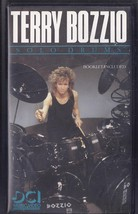TERRY BOZZIO SOLO DRUMS VHS Booklet Included  - $14.95