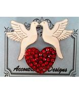 Two Turtle Doves LIMITED EDITION Magnet Needle ... - $18.00