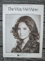 1960's Sheet Music Streisand PEOPLE FUNNY GIRL WAY WE WERE Plus GEORGY GIRL - $7.59