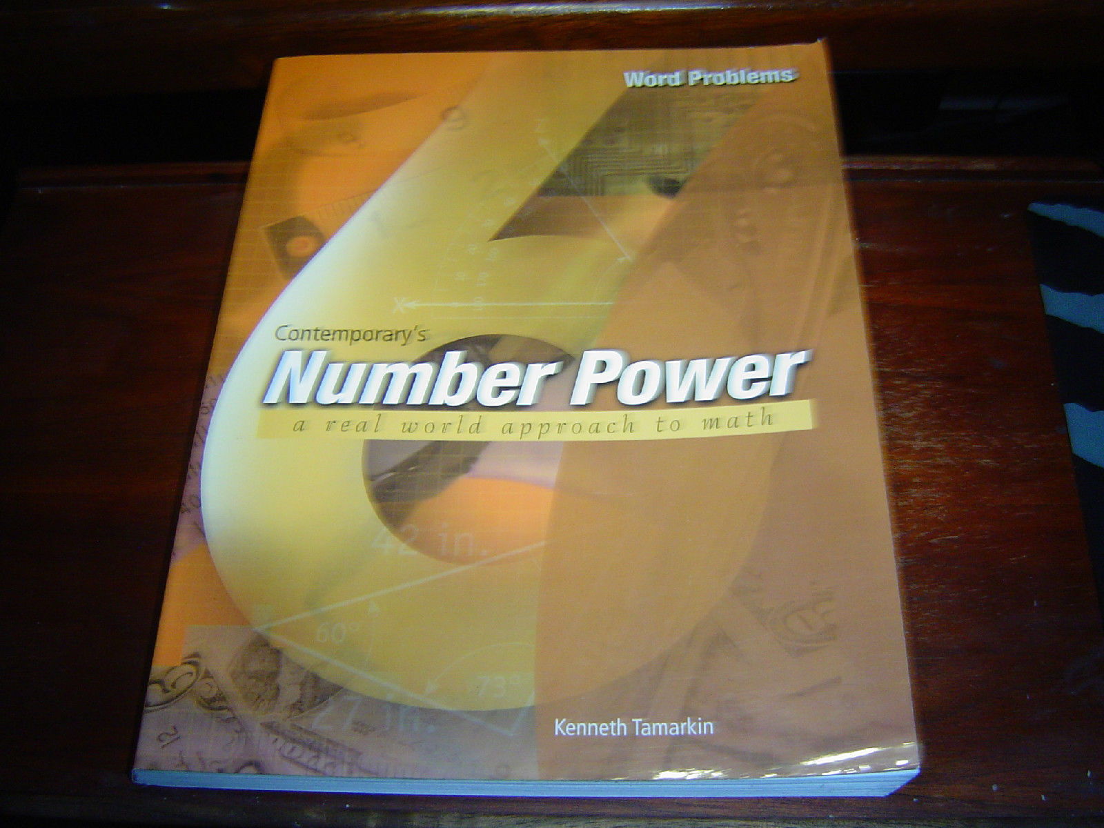 Primary image for CONTEMPORARY'S NUMBER POWER VOLUME 6 WORD PROBLEMS A REAL WORLD APPROACH TO MATH