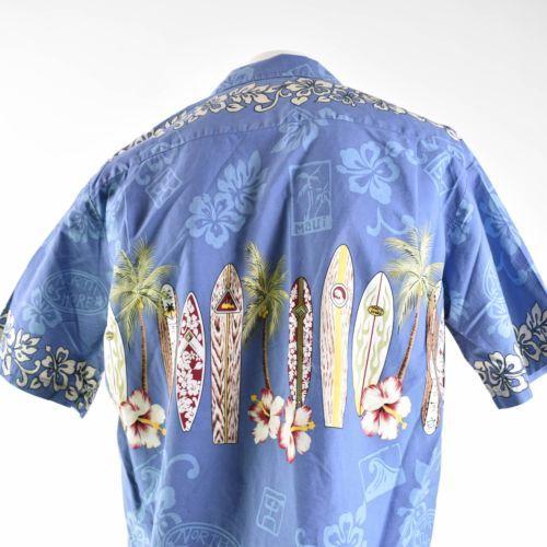 Royal Creations Large Surfboards North Shore Hibiscus Hawaiian Aloha Shirt