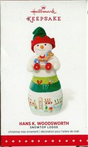 2015 Hallmark Ornament - Hans K. Woodsworth - Snowtop Lodge - 11th in Se... - $9.89