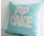 I love cake turquoise cushion side new thumb155 crop