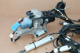 Pontiac G6 Convertible Top Lift Hydraulic Pump Motor Complete w/ Lines Cylinders image 2