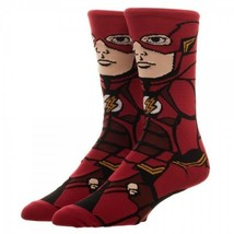 Justice League The Flash DC Comics Adult 360 Crew Socks - $9.99