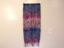 New fashion scarf shibori water color style in choice of color scheme image 9