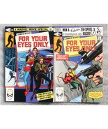 James Bond For Your Eyes Only 1 2 FVF 9.0 1981 2 Issue Lot Howard Chaykin - $7.91