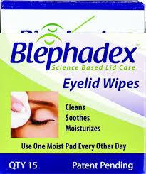 Blephadex eyelid scrub 30ct free shipping