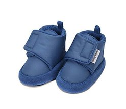 2PCS Cotton Shoes Prewalker Toddler Shoes Comfortable and Soft Anti-skid Shoes
