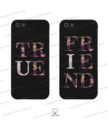BFF Floral Print Matching Clear Phone Covers - iphone 4 5 5C Galaxy S3 S... - $16.99