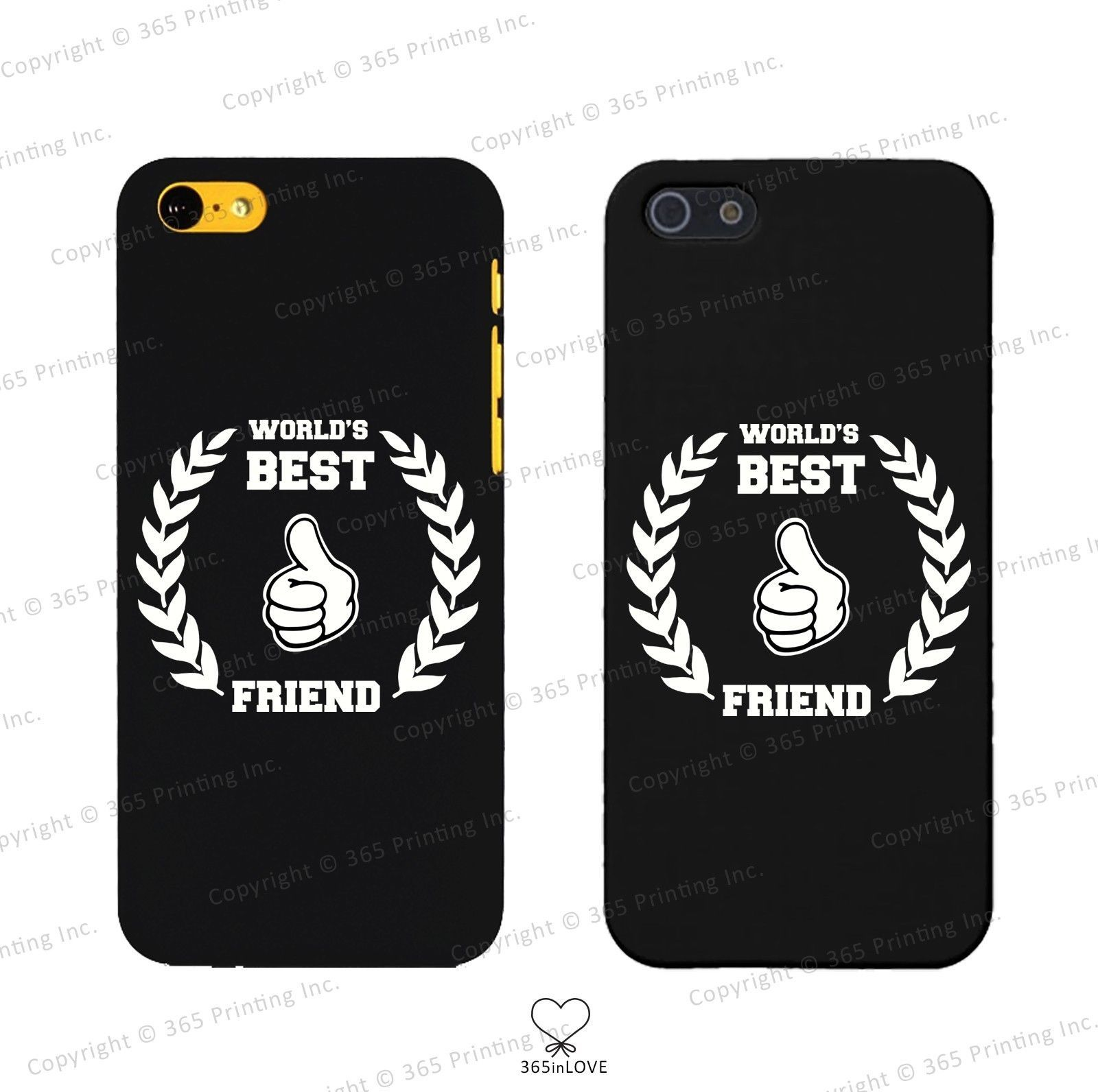 Primary image for World's Best Friend Matching BFF Phone Covers - iphone 4 5 5C Galaxy S3 S4 S5