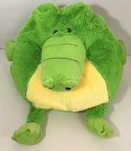 Jay Play Mushable Pot bellies Alligator Crocodile green yellow microbead... - $8.90