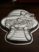 Wilton Industries 2003 Metal Strawberry Shortcake Cake / Jello Mold #210... - $6.66