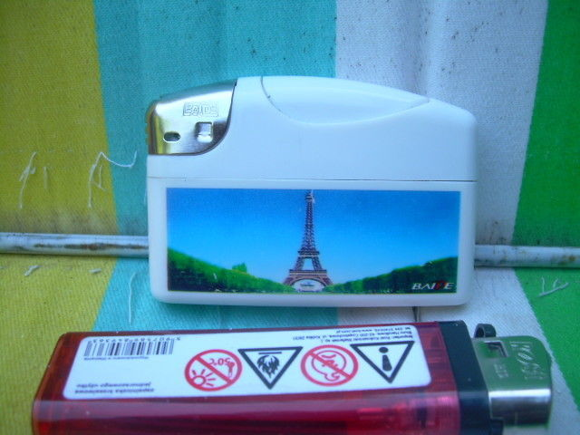 Primary image for Cute Baide Refillable Plastic Gas Lighter For Collection Paris Tower Eiffel