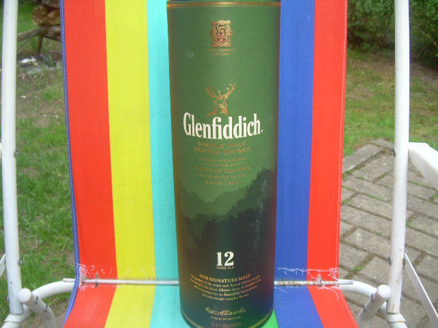 Primary image for Collectible Glenfiddich 12 Years Scotch Whisky Container Empty Large Cardboard