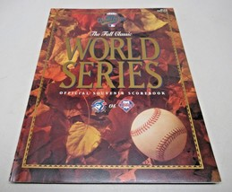 1993 World Series Official Souvenir Scorebook The Fall Classic Clean - $7.90
