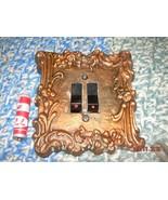 Vintage Soviet Ussr Russian Rare Metal Decorative Duoble Lamp Switch abo... - $15.14