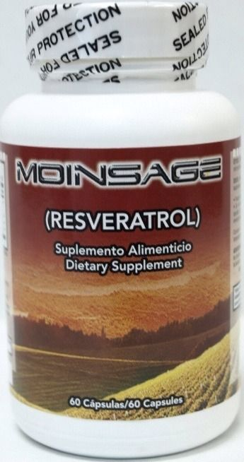 Primary image for MOINSAGE - RESVERATROL 100%