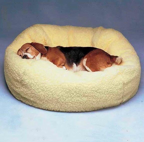 Dog Cat Bed Medium Size Comfortable Pet Sleep Pillow Fleece Cushion Cover NEW - $59.35