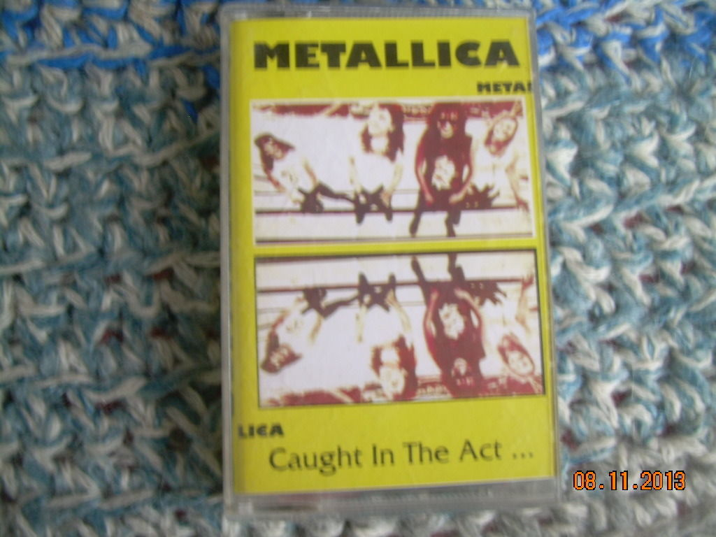Primary image for Metallica Caught In The Act Polish Release Made In Poland