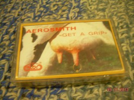 Aerosmith Get A Grip Cassette  Polish Poland Press - $8.90