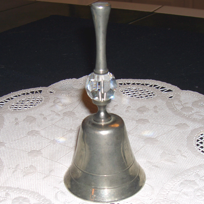 Bell made of metal