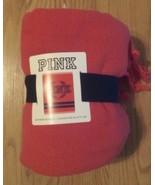 New Victoria's Secret PINK Boyfriend Blanket 50X60 100% Cotton - $23.00