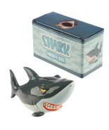 Shark Piggy Bank, Ceramic Money Box Bull Shark Saving Coins Bank in Gift... - $15.20