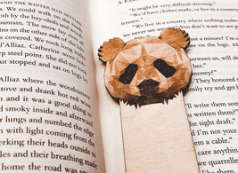 Engraved Panda Bookmark - $10.00