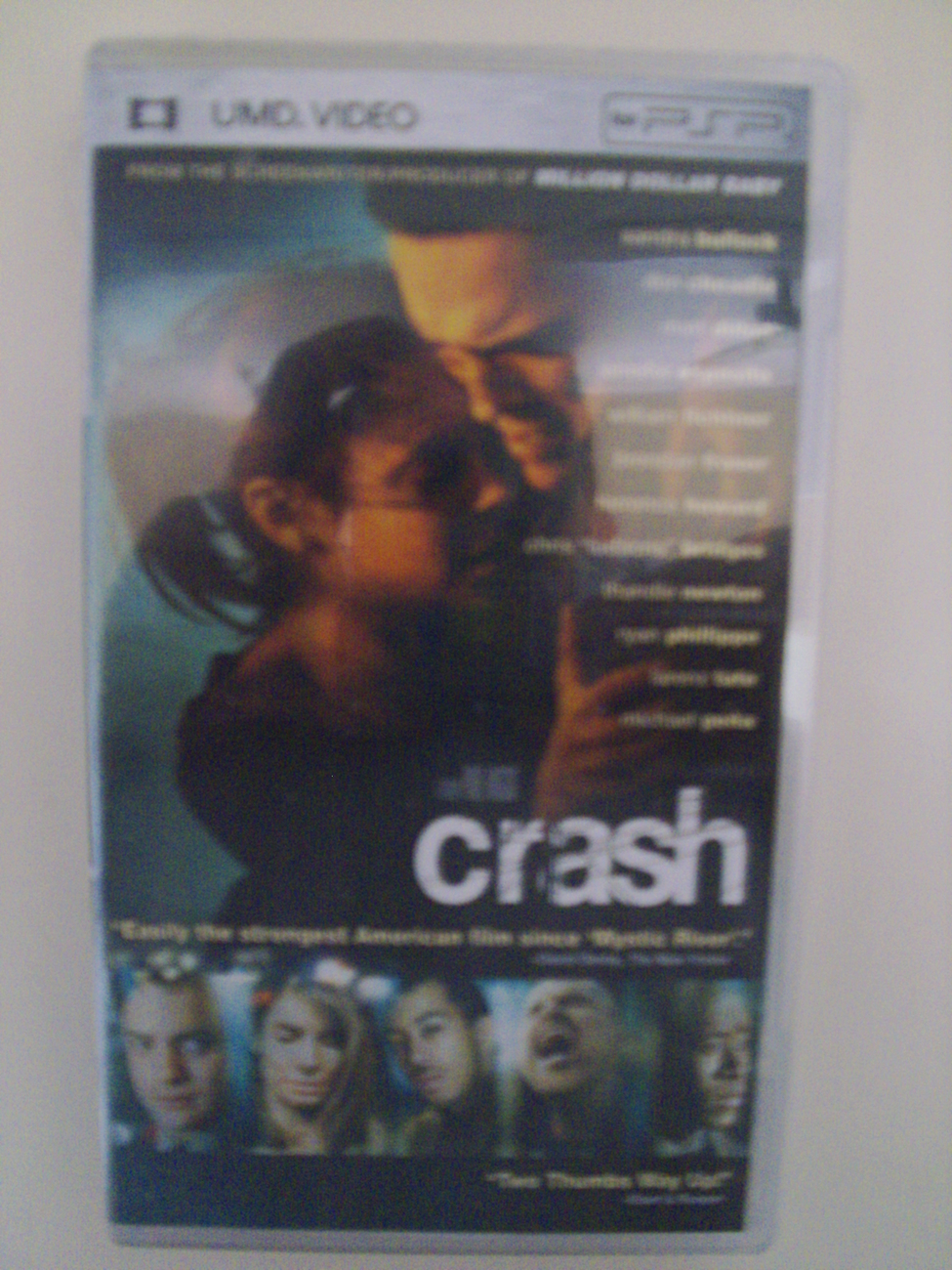 Crash UMD movie PSP Playstation Portable - New