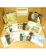Collection of 20 Vintage Records with Storage Case - $139.88