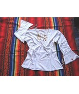 Folkloric embroidered shirt,longsleeve,pima Cotton - $43.00