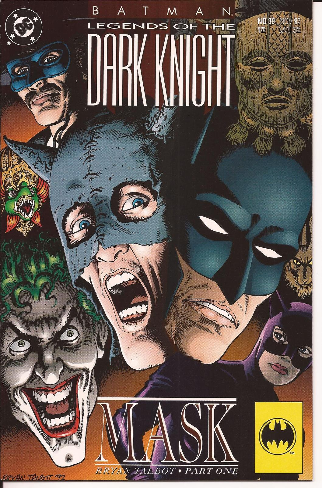 Primary image for DC Batman Legends Of The Dark Knight #39-40 Mask Storyline The Joker Bruce Wayne