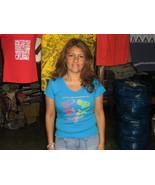 T-shirt unisex, shirt with V-neck, pure cotton  - $32.00